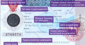 Виза в Таиланд для граждан РФ. Тайское консульство в России и документы на туристическую визу