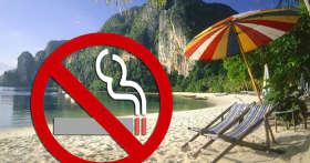 В Таиланде вводят постоянный запрет на курение на 24 пляжах