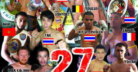 Тайский бокс(муай тай) в Паттайе