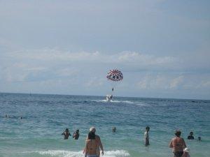 Полет на парашюте в Паттайе