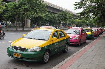 такси в бангкок, паттайя и тайланде