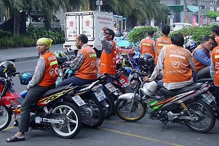 мото такси в тайланде