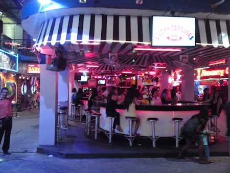открытый бар карусель в паттайя