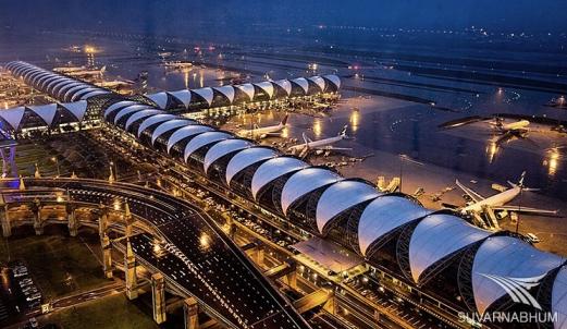 Полное описание аэропорта Бангкока Суварнабхуми в Таиланде: фото, видео и схемы