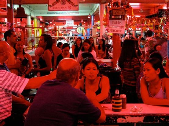 открытые бары в Таиланде