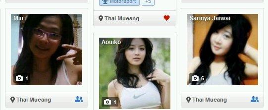 тайские девушки в интернете