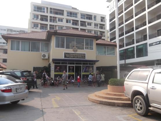 иммигрейшен офис в Паттайе