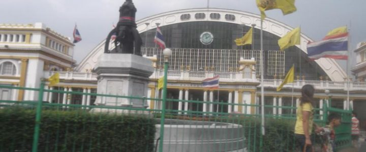 Моя поездка в Бангкок на китайский новый год