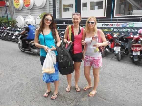 русские девушки в Паттайе