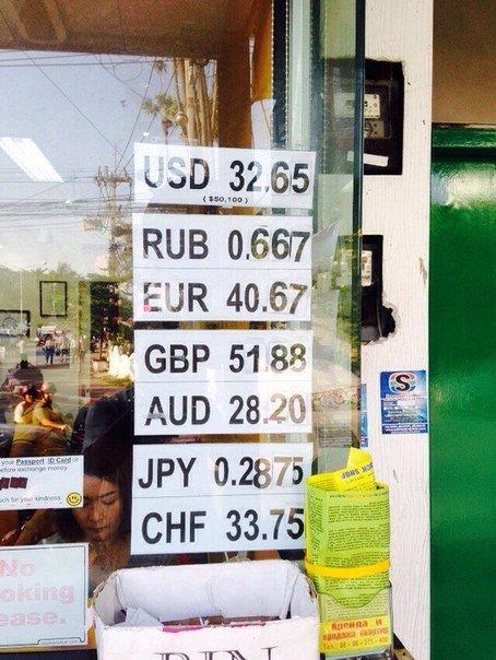 Курс тайского бата к рублю на сегодня в Паттайе и Пхукете ( калькулятор) 2019 года