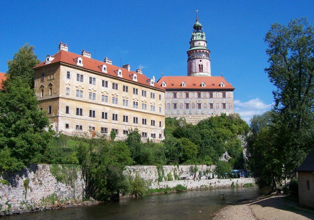 Чешский Крумлов - замок