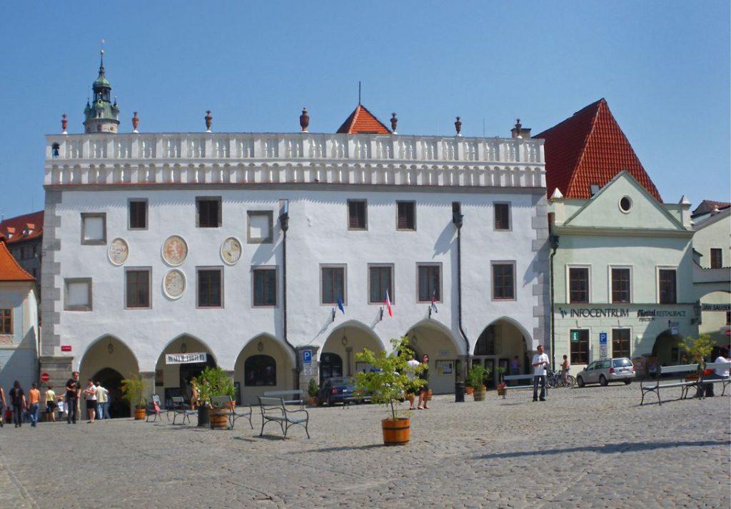Чешский Крумлов - ратуша