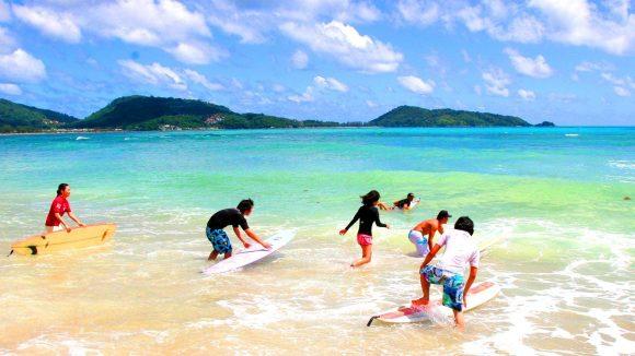 Серфинг на Калим Бич