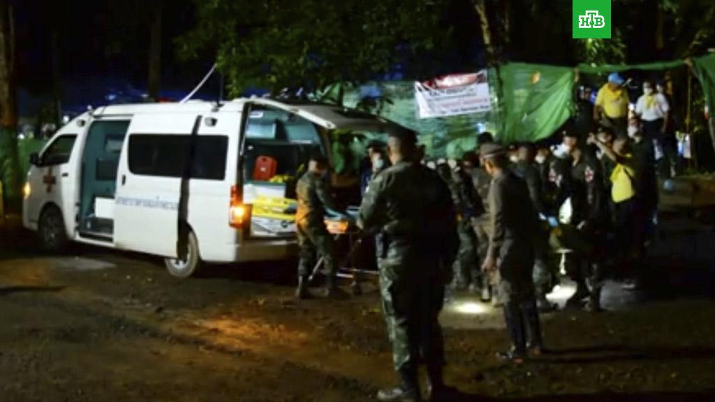 Продолжается операция по спасению детей в Таиланде