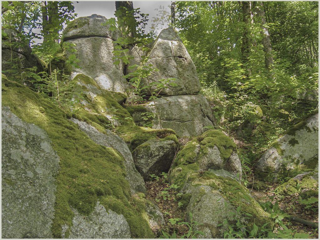 Экспонат в Геологическом парке Рис.21