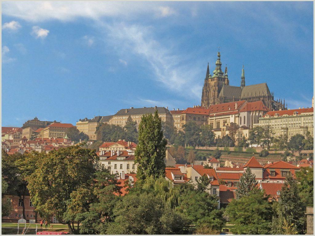 Прага. Вид со стороны Риегровых садов Рис.4
