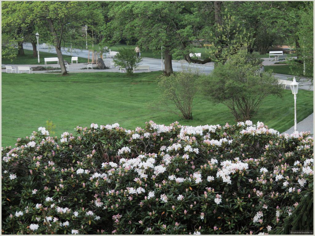 Городской парк в Марианских Лазнях