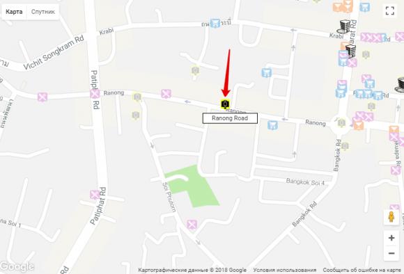автостанция на карте пхукета