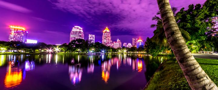 Популярные парки Бангкока