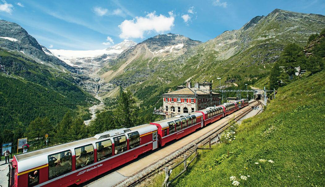 В этих странах лучше путешествовать на поезде ради живописных видов (фото)