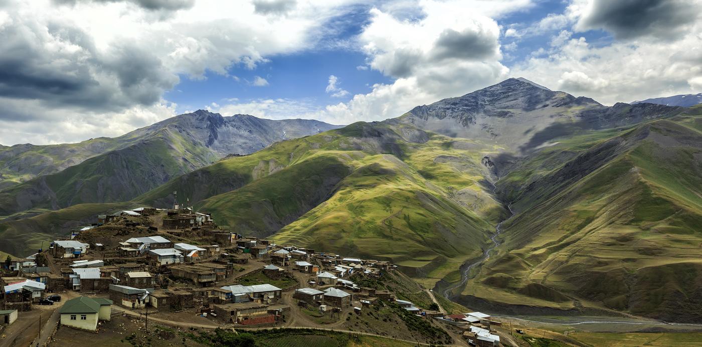 Деревня в Азербайджане