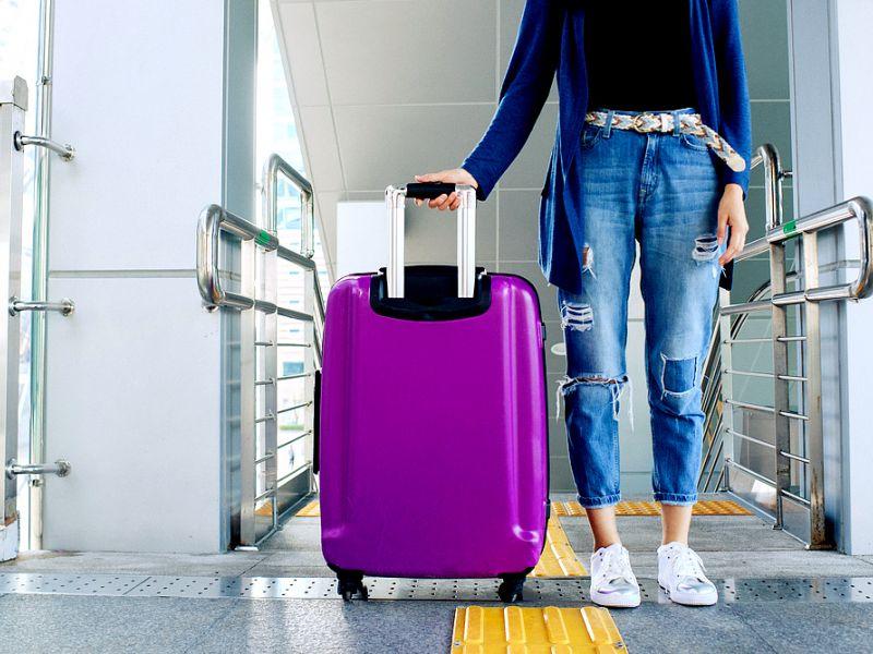 Взвесить чемодан без весов