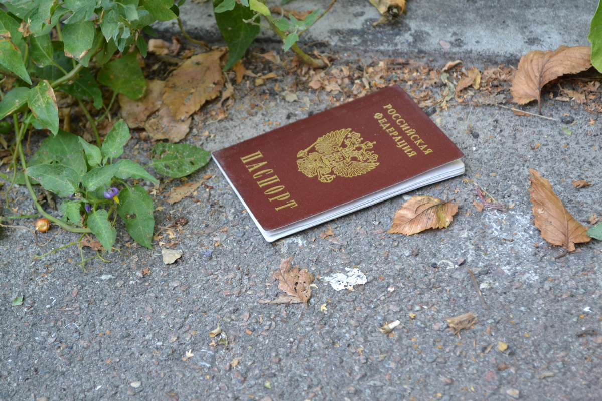 Потеря паспорта перед вылетом