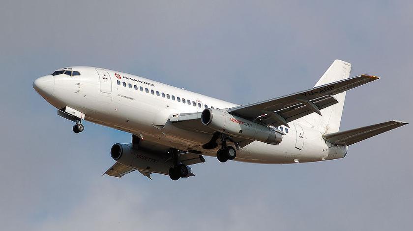 Самолет из Анталии в Москву