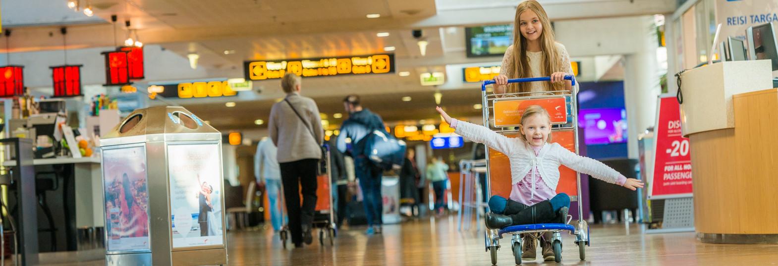 Дети в аэропорте