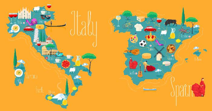 Италия и Испания