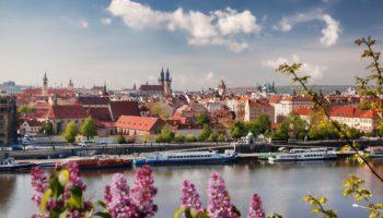 Чехия весной