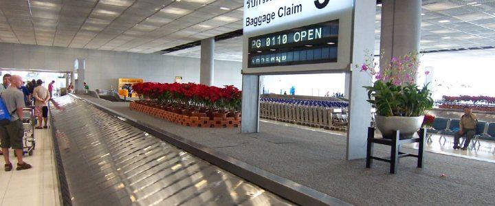 В аэропорту Бангкока Суварнабхуми процветает воровство чемоданов