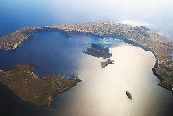Санторини - кальдера