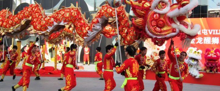 Праздник китайского нового года в Таиланде в 2018 году