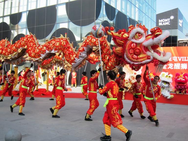 Праздник китайского нового года в Таиланде в 2019 году