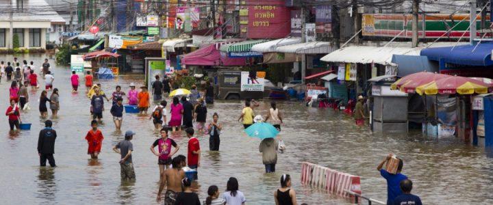 Сезон дождей в Таиланде. Количество осадков по месяцам в Паттайе, на Самуи и Пхукете