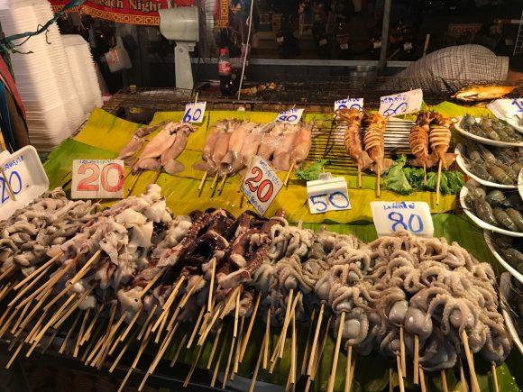 цены на морепродукты в Таиланде