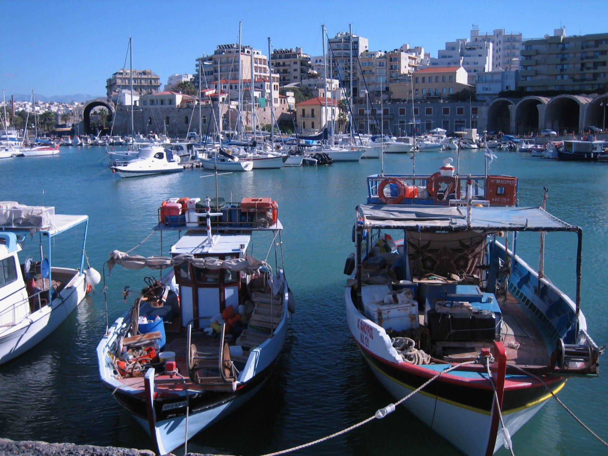 Ираклион (Крит). Старый порт.