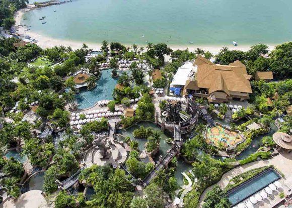Самый большой аквапарк в тайланде