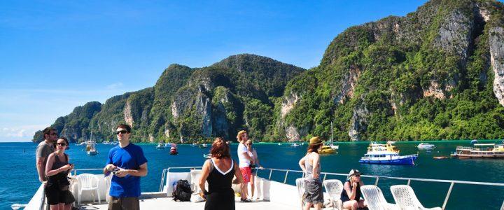 Как добраться до острова Пхи-Пхи c Пхукета или Краби