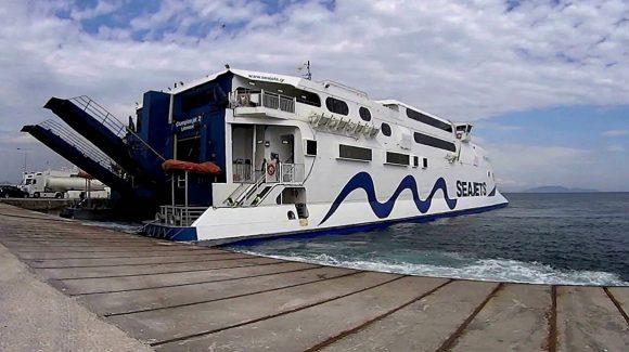 Паром Крит - Санторини Seajets