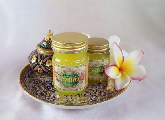 желтый бальзам из Таиланда